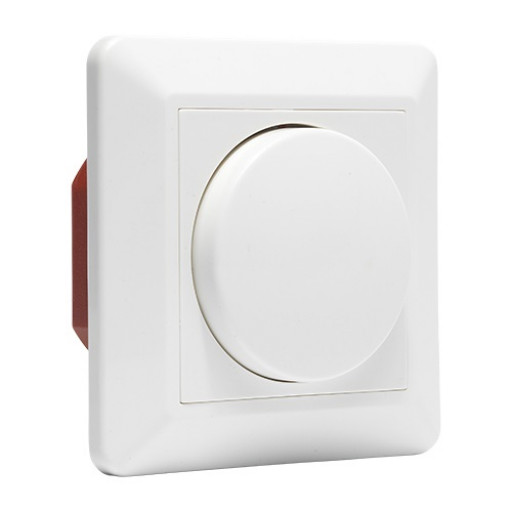 LED draaidimmer compleet | creme
