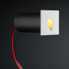 Cree LED trapverlichting Gerona | wit | vierkant | warmwit | 1 watt