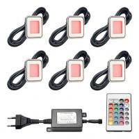 Epistar LED vlonderverlichting Horta | RGB | set van 6 stuks LVS802-06