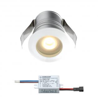 Cree LED inbouwspot Burgos | wit | warmwit | 3 watt | dimbaar L2302