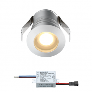 Cree LED inbouwspot Burgos | warmwit | 3 watt | dimbaar L2108