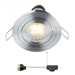 Coblux LED inbouwspot | warmwit | 5 watt | dimbaar | kantelbaar L2061