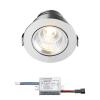 Sharp LED inbouwspot Granada | warmwit | 4 watt | dimbaar | kantelbaar