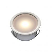 Epistar LED vloerspot Alfena | warmwit | 0,4 watt LVSW