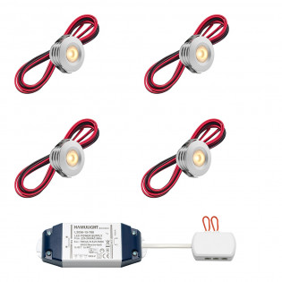 Cree LED inbouwspot Pals bas | warmwit | set van 4, 6, 8, 10 of 12 stuks L2230