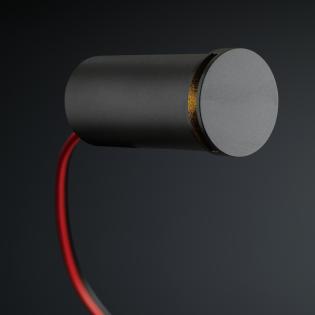Cree LED trapverlichting Lepe | zwart | rond | warmwit | 1 watt L2176