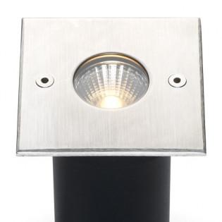 Cree LED grondspot Trofa | warmwit | 5 watt | vierkant L2089