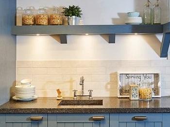 LED spots keuken