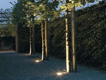 LED spots voor in de tuin