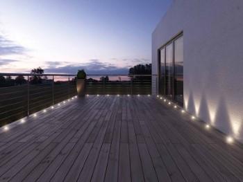 Waterdichte LED vlonderspots